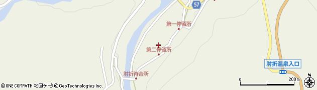 山形県最上郡大蔵村南山512周辺の地図