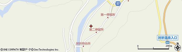 山形県最上郡大蔵村南山516周辺の地図