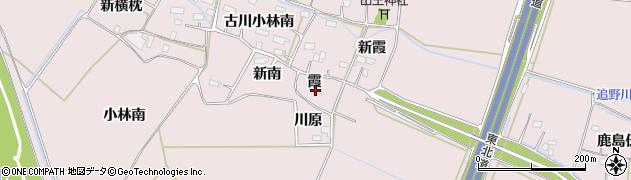 宮城県大崎市古川小林(霞)周辺の地図