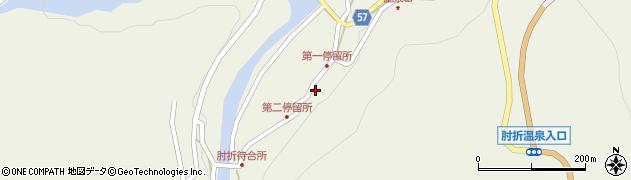 山形県最上郡大蔵村南山498周辺の地図