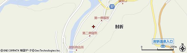 山形県最上郡大蔵村南山504周辺の地図