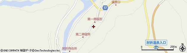 山形県最上郡大蔵村南山497周辺の地図