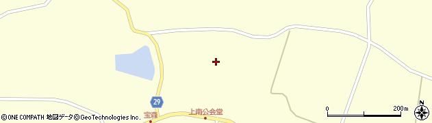 宮城県大崎市田尻大貫(田中浦)周辺の地図