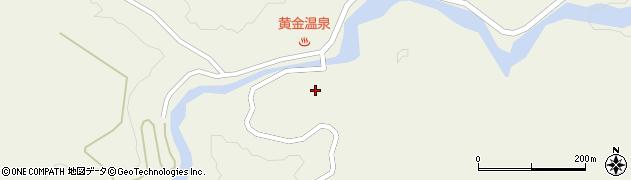 山形県最上郡大蔵村南山2156周辺の地図