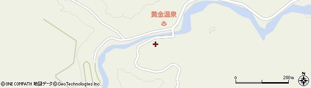 山形県最上郡大蔵村南山635周辺の地図