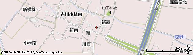 宮城県大崎市古川小林(新南)周辺の地図