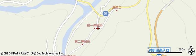山形県最上郡大蔵村南山488周辺の地図