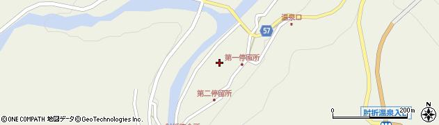 山形県最上郡大蔵村南山500周辺の地図