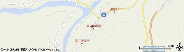 山形県最上郡大蔵村南山486周辺の地図