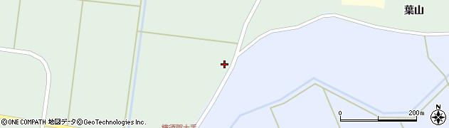 宮城県大崎市田尻沼部(横砂)周辺の地図