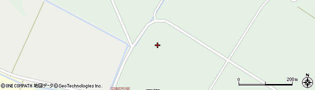 宮城県大崎市田尻沼部(俵田)周辺の地図