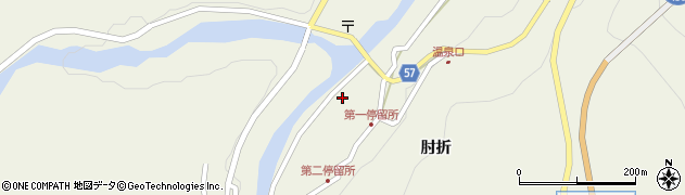 山形県最上郡大蔵村南山494周辺の地図