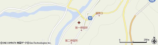山形県最上郡大蔵村南山453周辺の地図