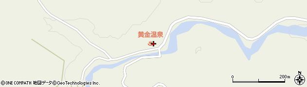 山形県最上郡大蔵村南山661周辺の地図