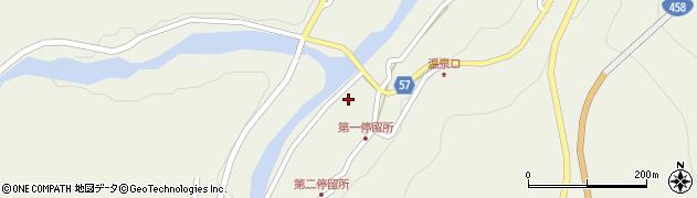 山形県最上郡大蔵村南山478周辺の地図
