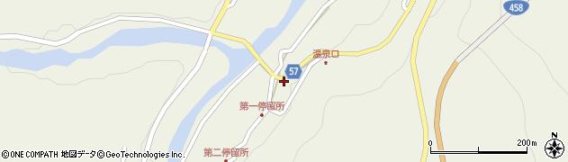 山形県最上郡大蔵村南山471周辺の地図