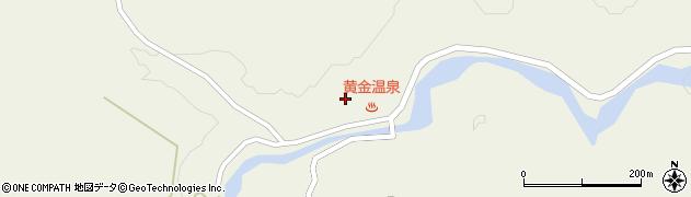 山形県最上郡大蔵村南山664周辺の地図