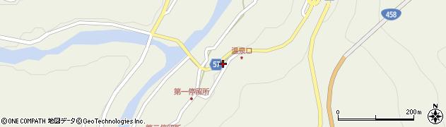 山形県最上郡大蔵村南山2128周辺の地図
