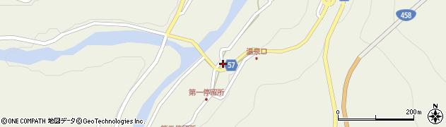 山形県最上郡大蔵村南山470周辺の地図