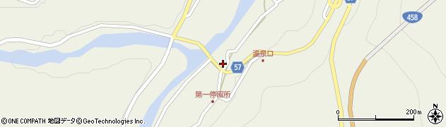 山形県最上郡大蔵村南山466周辺の地図