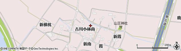 宮城県大崎市古川小林(南)周辺の地図