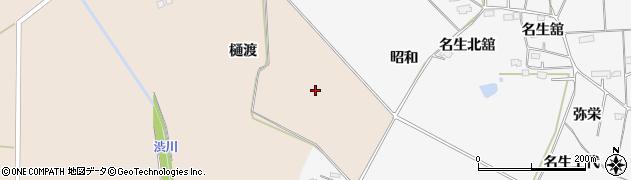 宮城県大崎市岩出山南沢(新東樋渡)周辺の地図