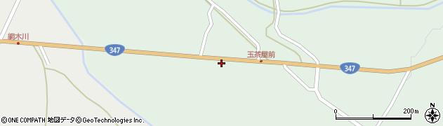 山形県尾花沢市北郷556周辺の地図