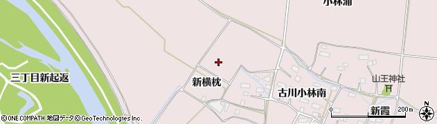 宮城県大崎市古川小林(新横枕)周辺の地図