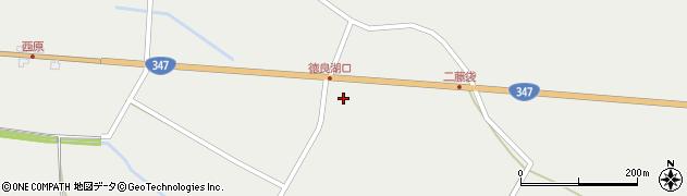山形県尾花沢市二藤袋1405周辺の地図