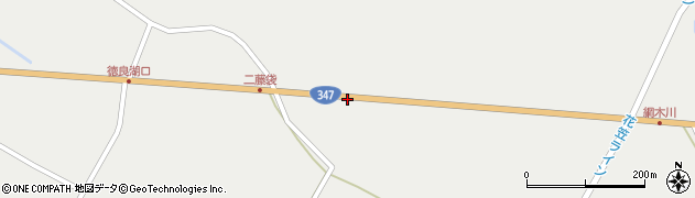 山形県尾花沢市二藤袋625周辺の地図