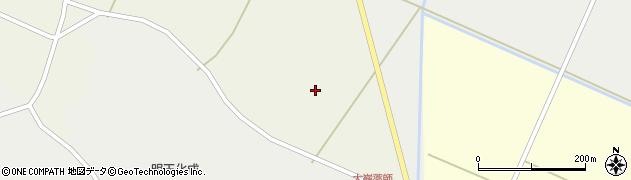 宮城県大崎市田尻八幡(北向)周辺の地図
