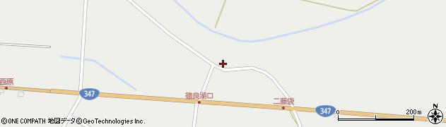 山形県尾花沢市二藤袋485周辺の地図