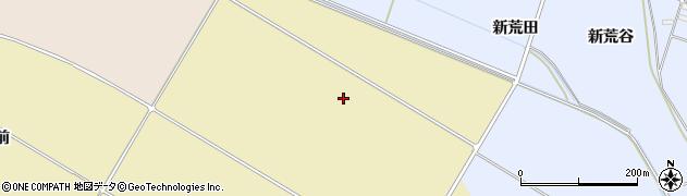 宮城県大崎市古川荒谷(新夜待)周辺の地図