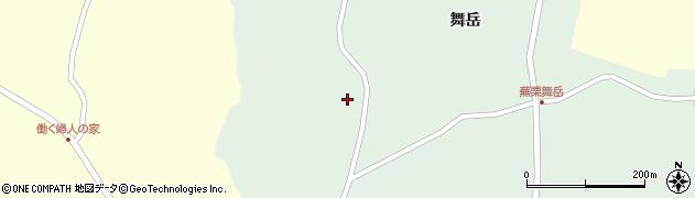 宮城県大崎市田尻蕪栗(西沢)周辺の地図