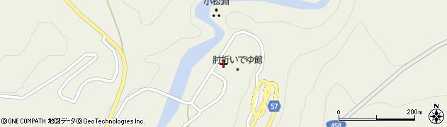 山形県最上郡大蔵村南山451周辺の地図