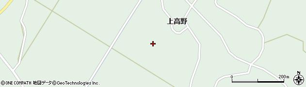 宮城県大崎市田尻沼部(上高野前)周辺の地図