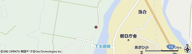 山形県鶴岡市本郷(水ノ上)周辺の地図