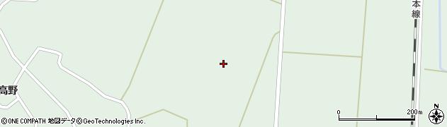 宮城県大崎市田尻沼部(新花崎)周辺の地図