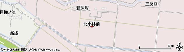 宮城県大崎市古川小林(北小林前)周辺の地図
