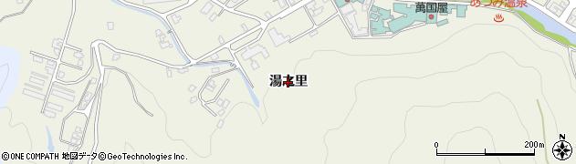 山形県鶴岡市湯温海(湯之里)周辺の地図