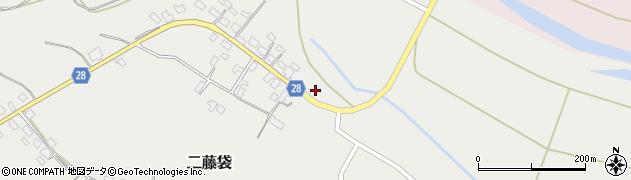 山形県尾花沢市二藤袋331周辺の地図
