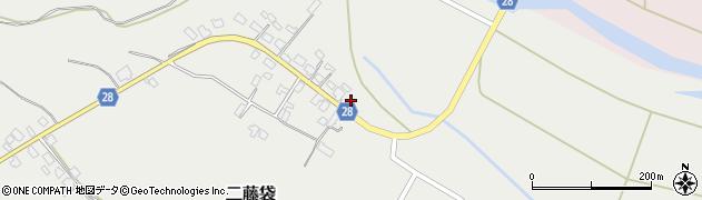 山形県尾花沢市二藤袋286周辺の地図