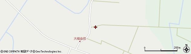 宮城県大崎市田尻大嶺(上小長崎)周辺の地図