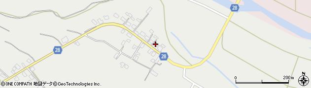 山形県尾花沢市二藤袋282周辺の地図