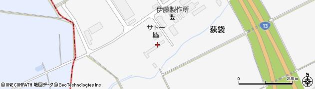 山形県尾花沢市荻袋1325周辺の地図