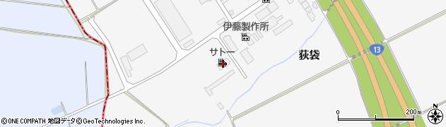 山形県尾花沢市荻袋西荻原1325周辺の地図