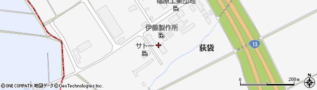 山形県尾花沢市荻袋1288周辺の地図