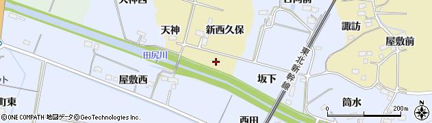 宮城県大崎市田尻諏訪峠(西久保)周辺の地図