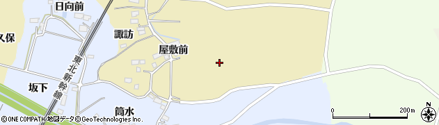宮城県大崎市田尻諏訪峠(新宮沼)周辺の地図