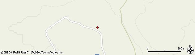 山形県最上郡大蔵村南山692周辺の地図